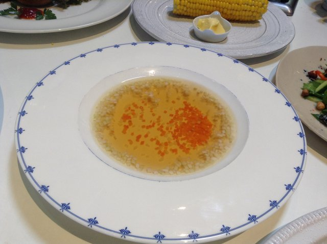 Beef Consomme from Beef Stock - Ballymaloe Cookery School