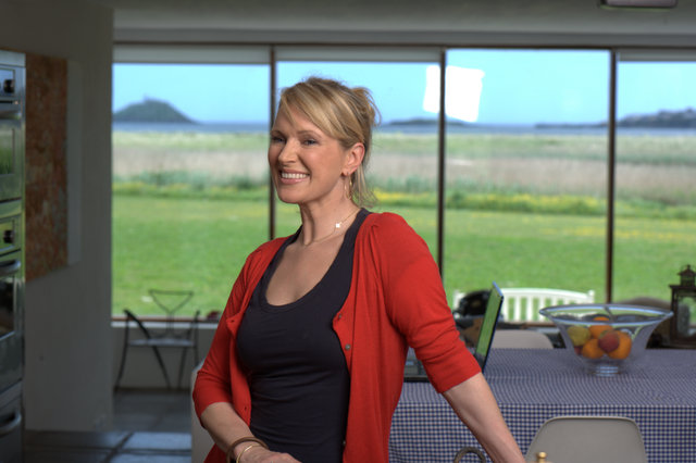 Rachel Allen at Ballymaloe Cookery School
