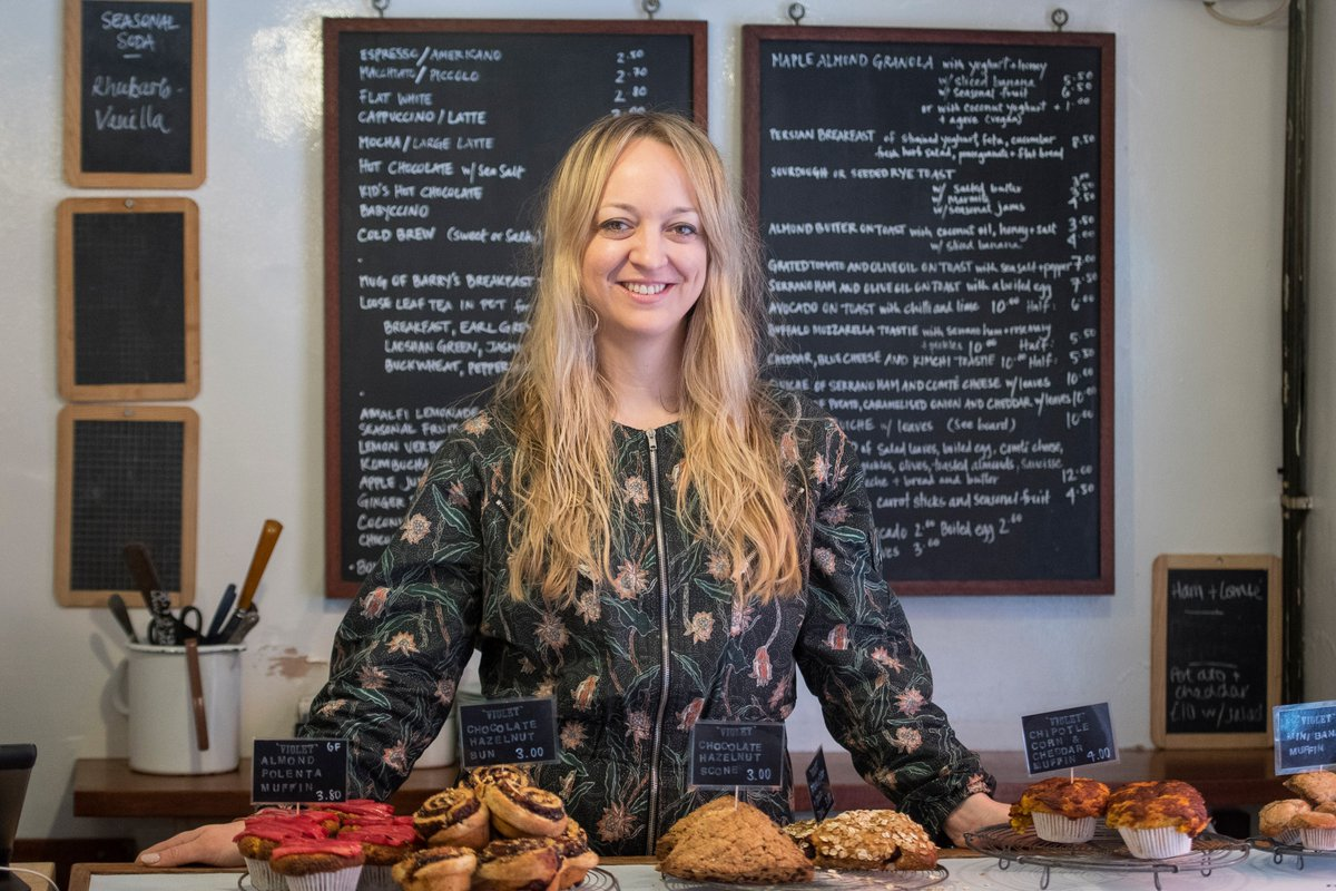 Claire Ptak of Violet Bakery London