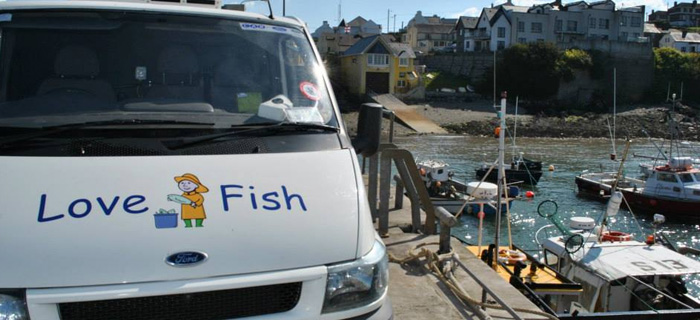 Fresh fish from Ballycotton
