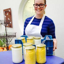 Clancy Potts, The Dairy - Ballymaloe Cookery School