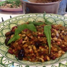 Black-Eyed Bean and Chick Pea Stew - One Pot Wonders - Ballymaloe Cookery School