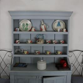 Cottage dresser at Ballymaloe Cookery School