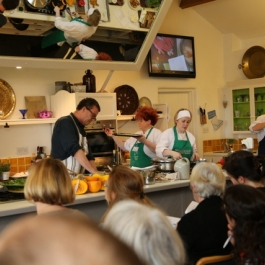 Jeremy Lee at Ballymaloe Cookery School