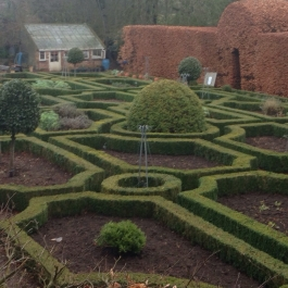 The Herb Garden cleared in early Spring - Ballymaloe Cookery School