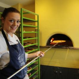 The Team at Saturday Pizzas - Ballymaloe Cookery School