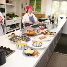 Antony Worrall Thompson at Ballymaloe Cookery School