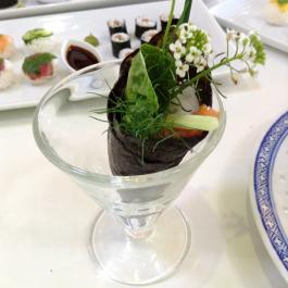 Sushi bouquet at Ballymaloe Cookery School