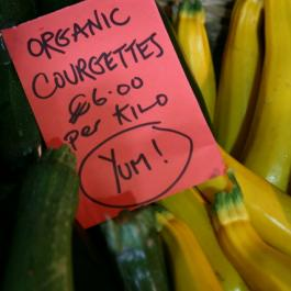 Fresh Organic Produce - Ballymaloe Cookery School