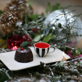 Christmas Entertaining - Mini Christmas Puddings