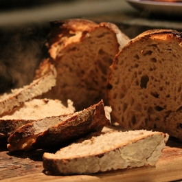 Students get the chance to attend a sourdough workshop