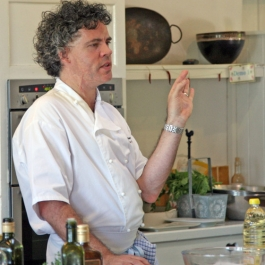 Peter Gordon at Ballymaloe Cookery School