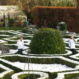 Winter in The Herb Garden - Ballymaloe Cookery School
