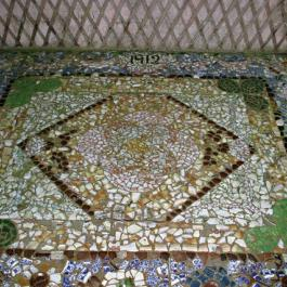 Mosaic Floor, Summer House - Ballymaloe Cookery School