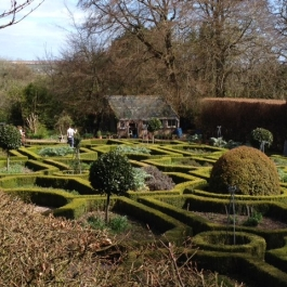 The Herb Garden in April